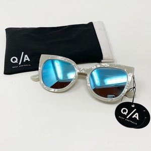 Quay Australia | Noosa Sunglasses Pearl Blue New